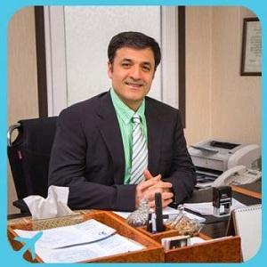 الدكتور عبد الله زندي متخصص جراحة البدانة بالمنظار في طهران ايران