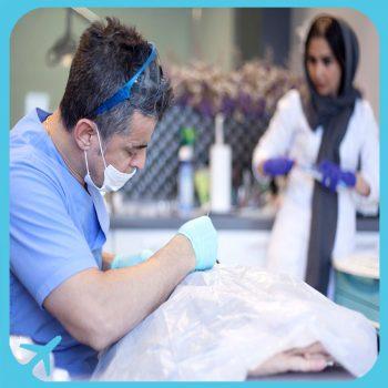 عيادة الدكتور شاهروخ يغانه المتخصص في طب و جراحة وتجميل الاسنان في طهران ايران