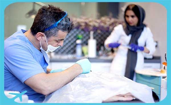 عيادة الدكتور شاهروخ يغانة لطب الأسنان في طهران