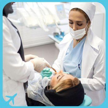 الدكتور شاهروخ يغانه أحد افضل أطباء الاسنان في طهران ايران