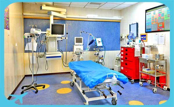 احدث التجهيزات الطبية و التقنية في مستشفى شمال في مازندران ايران