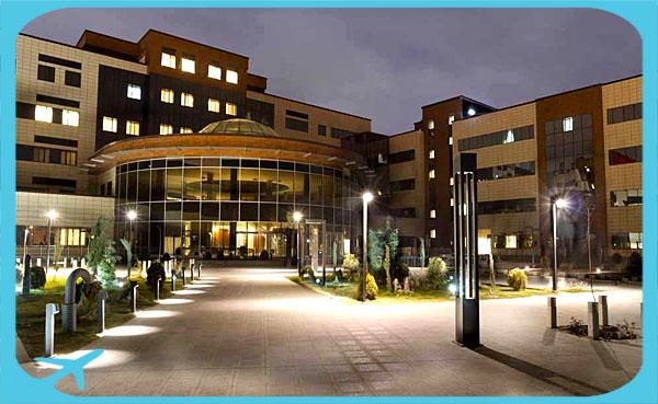 مستشفى رضوي في مشهد العلاج في مشهد