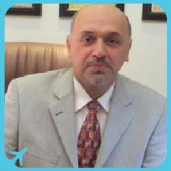 الدكتور بابك باب شريف متخصص في أمراض و جراحة العين في ايران