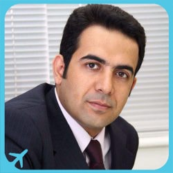 الدكتور أمير حسين سربازي مختص في زراعة الاسنان في ايران