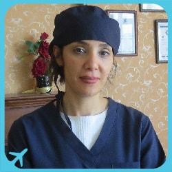 الدكتورة ريما حسين زاده أخصائية في طب و تجميل الاسنان في طهران | آريا مدتور