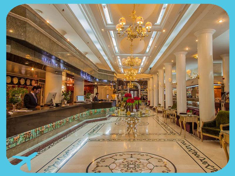 فندق قصر الدولي في مشهد ايران