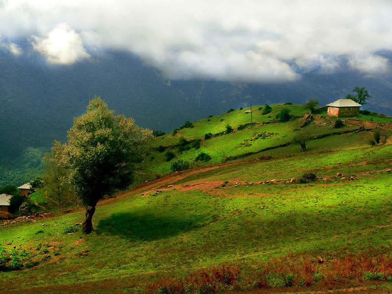 محافظة مازندران شمال ايران - الأماكن السياحية في ايران