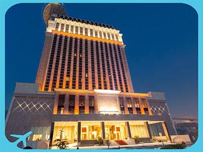 فندق اسبيناس بالاس من أرقى الفنادق في طهران ايران