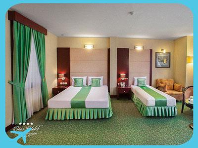 غرف و أجنحة فخمة في فندق طوس في مشهد ايران | آريا مدتور للسياحة الطبية