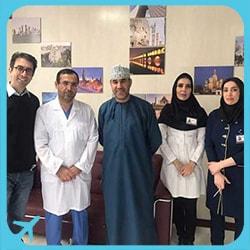 تجربة تكميم المعدة في ايران لزوجة جراح قلب عماني | آريا مدتور