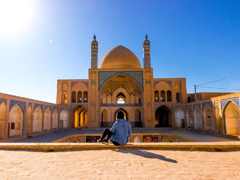 مدينة كاشان في ايران