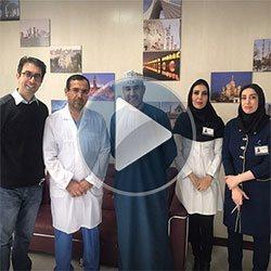 تجربة عملية تكميم المعدة في ايران