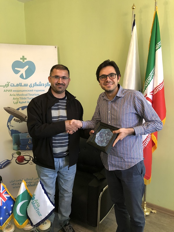 تجربة علاج العقم و أطفال الأنابيب في ايران