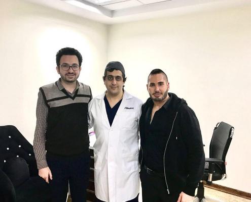تجميل الأنف في ايران - الدكتور فرشيد محبوبي راد