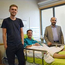 تجربة علاج العظام والمفاصل في مستشفيات ايران