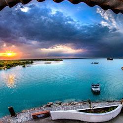 جزيرة قشم في ايران