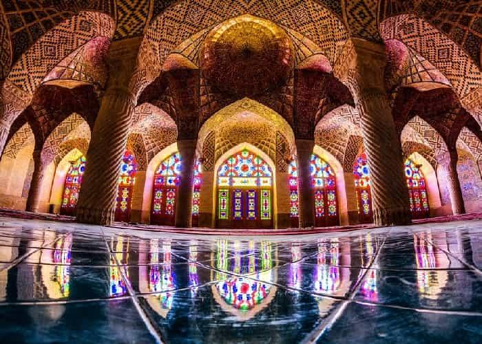 مسجد نصير الملك في شيراز