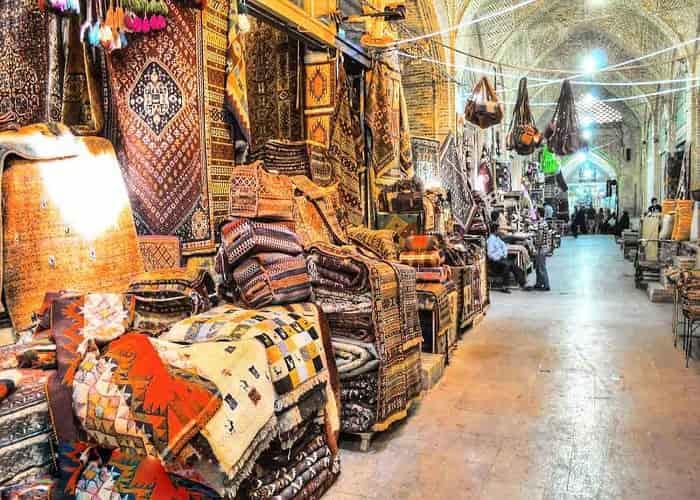 بازار وكيل في شيراز