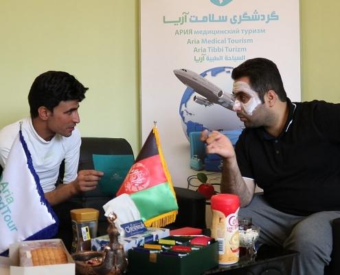 تجربة عبد القادر من أفغانستان مع ازالة الشعر بالليزر في ايران
