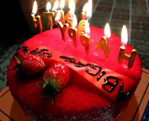 قالب حفلة عيد ميلاد أبيغيل الأسترالية في طهران