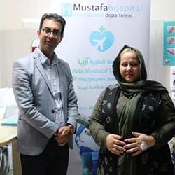 جراحة تكميم المعدة بالمنظار لامرأة مقدونية في ايران | آريا مدتور