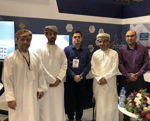 من مشاركة شركة آريا مدتور في مؤتمر ومعرض عمان للسياحة الطبية