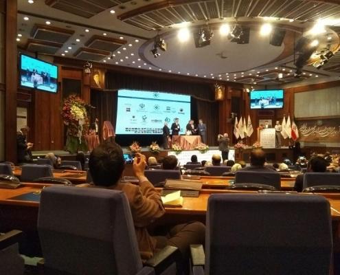 من فعاليات مؤتمر تطوير العلاقات الاقتصادية في مجال الصحة في طهران