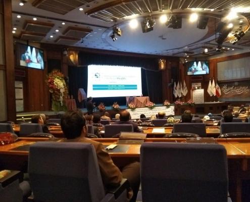 مؤتمر تطوير العلاقات الاقتصادية في مجال الصحة في طهران