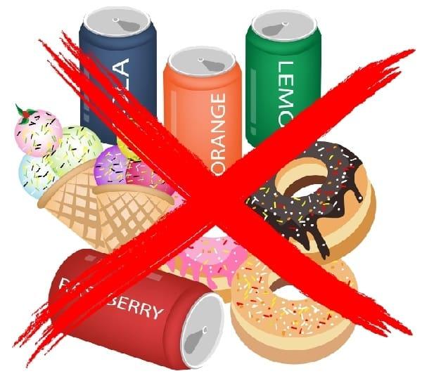 الاطعمة الممنوعة بعد عملية انقاص الوزن