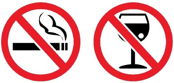 التدخين وشرب الكحول بعد عملية انقاص الوزن