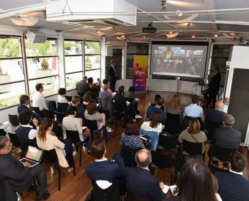 محاضرة ضمن فعاليات معرض توب ريزا في فرنسا 2018