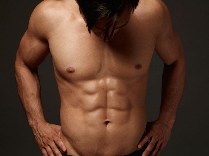 رسم عضلات المعدة
