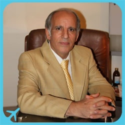 الدكتور رجب شيرواني أخصائي تجميل الانف في ايران