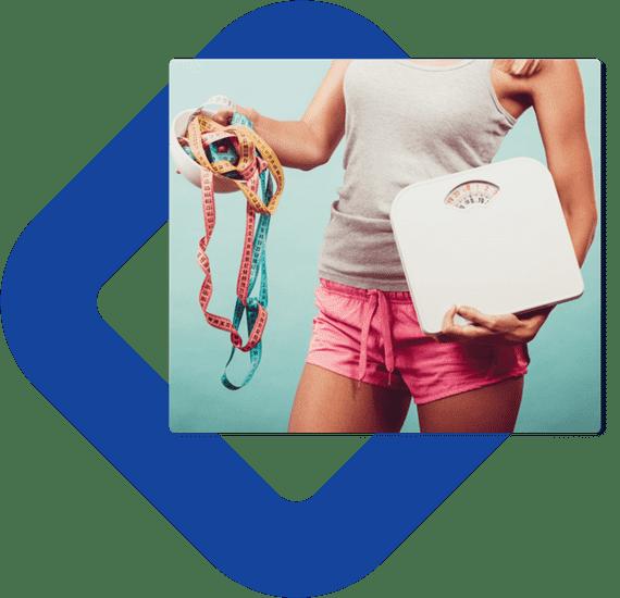 عرض عملية انقاص الوزن