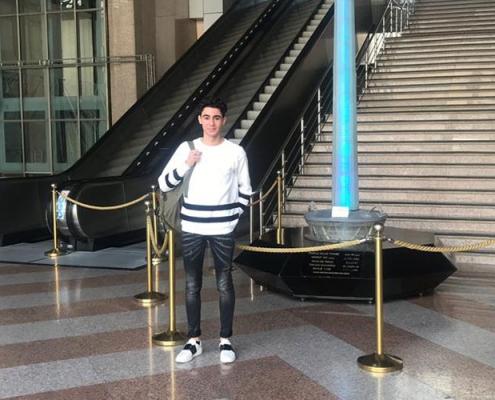 مروان من هولندا في ايران لإجراء جراحة تجميل الانف