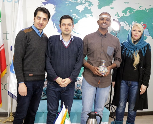 مريض زراعة شعر هندي في ايران