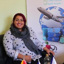 شهادة مريضة ليبية هولندية عن انقاص الوزن في ايران