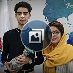 مريض هولندي في طهران ايران آريا مدتور