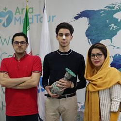 شهادة مريض هولندي عن تجميل الانف في ايران