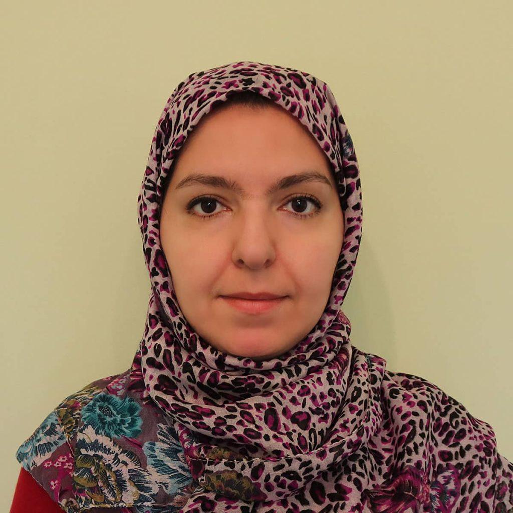 نموذج الصورة الشخصية للنساء المحجبات من أجل الحصول على تأشيرة ايران