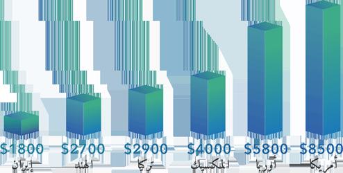 تكلفة تجميل الانف في ايران وبعض الدول