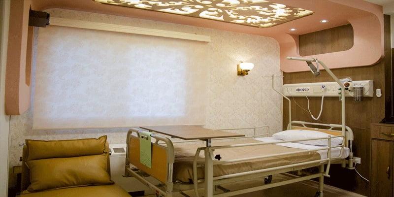 اجنحة رضى مميزة مستشفى ابن سينا في طهران