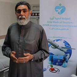 المرضى العرب في ايران