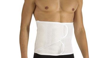 لبس مشد بعد عملية تقسيم عضلات البطن