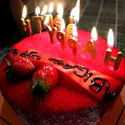 آريا مدتور تقيم حفلة عيد ميلاد لمريضتها من استراليا