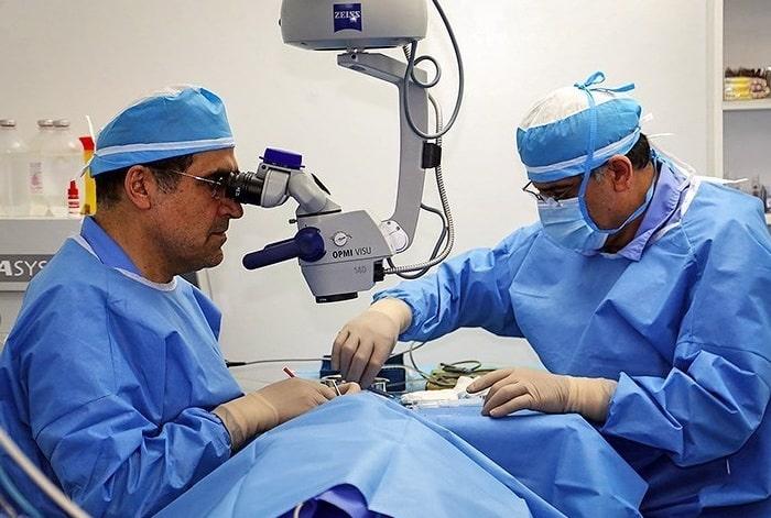 افضل دكتور تجميل العين في ايران