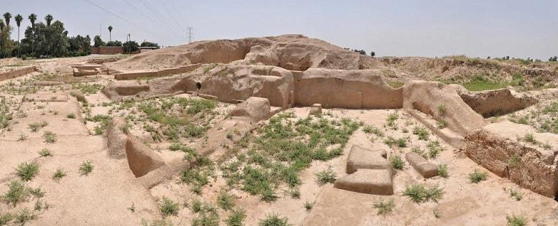 آثار التلال السبع في ايران