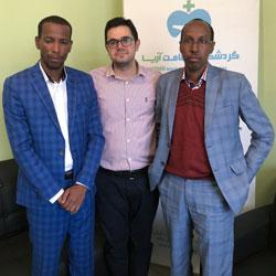 شخصان من اثيوبيا يبحثان فرص التعاون في السياحة الطبية ايران