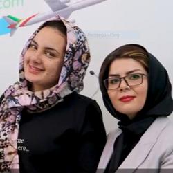 تجميل الانف في ايران لمريضة اسبانية