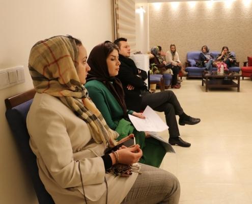 مريضتنا الاسبانية في عيادة دكتور تجميل في طهران